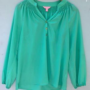 Lilly Pulitzer Elsa Top - Flowy Women's Shirt